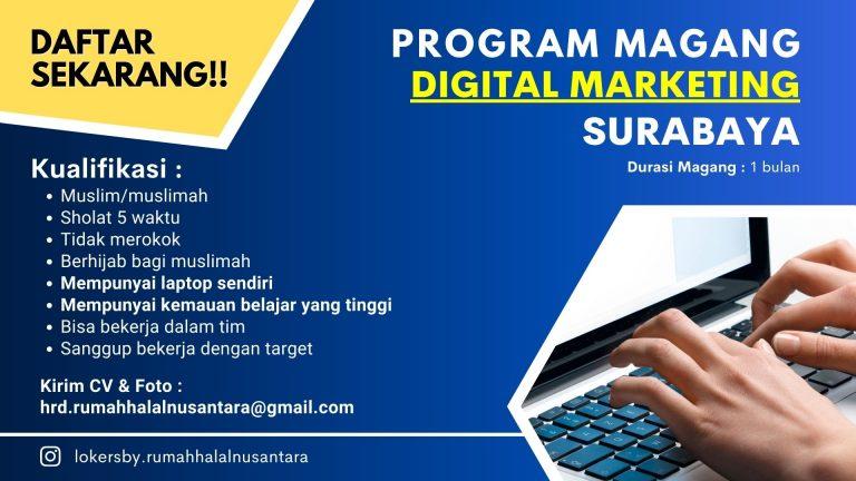 Program Magang Digital Marketing Surabaya